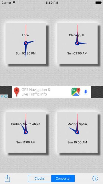 World Clocks screenshot-4