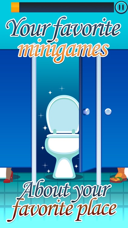 Toilet Time - Mini Games to Play in the Bathroom