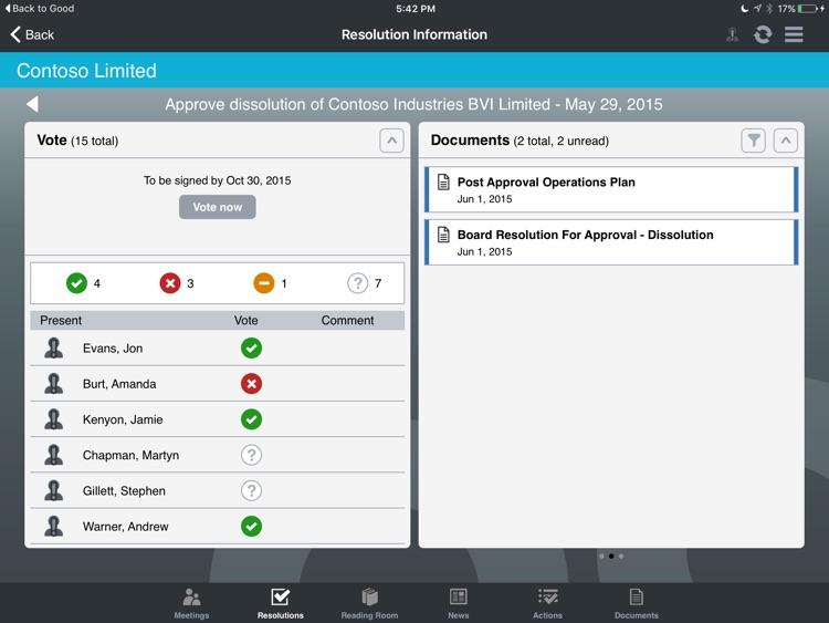 BoardPad BlackBerry Dynamics screenshot-3