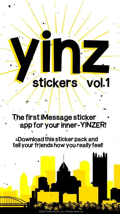 Yinz Stickers: Volume 1