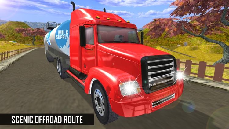 Milk-Man: Offroad Transporter Trailer Truck Drive