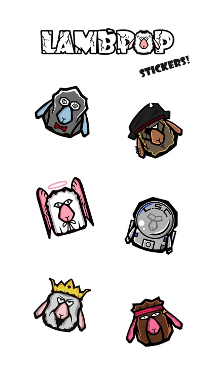 Lambpop Stickers