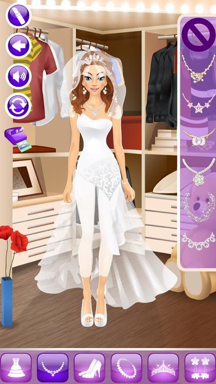 Wedding Day Makeover - Makeup, Dressup & Girl Game screenshot-4