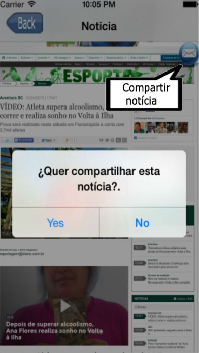 Entre Notícias Brasil screenshot two