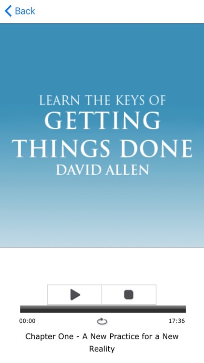 Getting Things Done by David Allen Meditations Audiobook