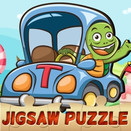 Car and Trucks Jigsaw Puzzles for Toddlers Free