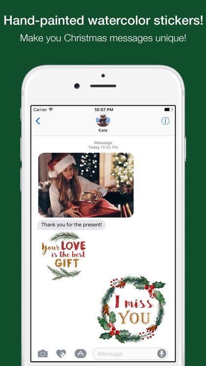 Christmas Messages Stickers - by Maraquela screenshot-3