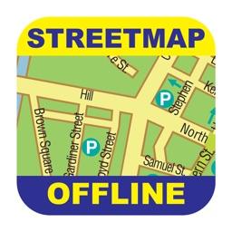 Frankfurt Offline Street Map