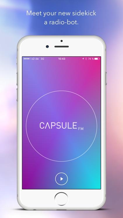 Capsule.fm - radio by robots screenshot-0