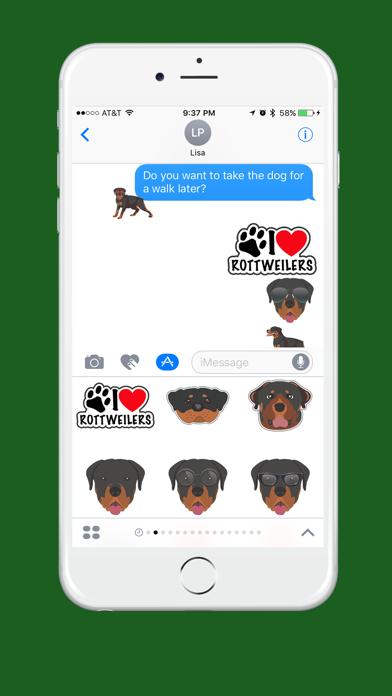 Rottweiler Emoji screenshot one