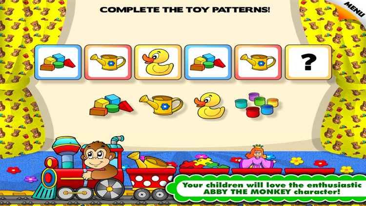 Toddler kids game - preschool learning games free