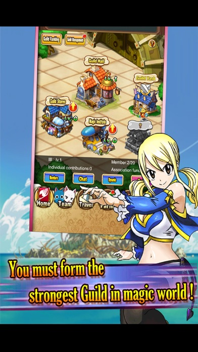 Скриншот Dragon Mage - Best mobile Fairy Tail game