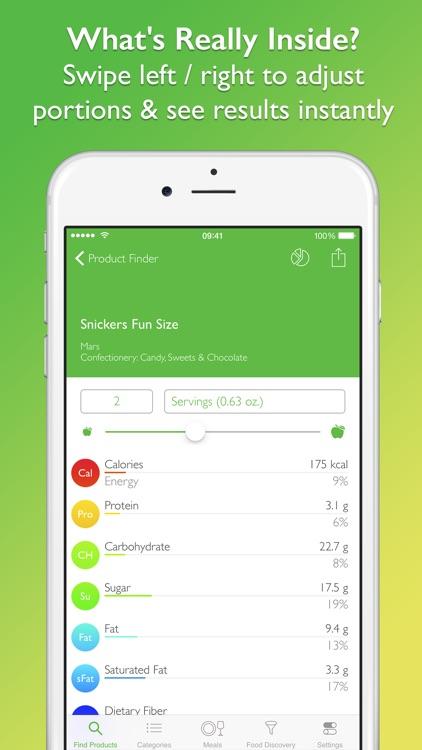 Supermarket Food Nutrition & Calorie Guide screenshot-3