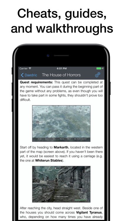 Pocket Wiki for The Elder Scrolls V: Skyrim