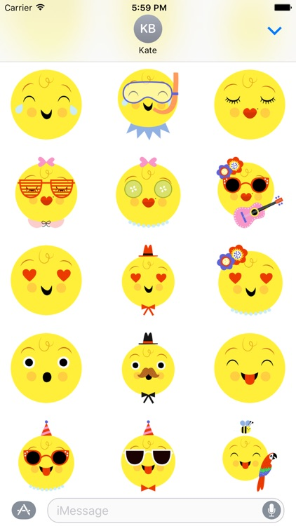 Emoji Pals - Skye stickers screenshot-3