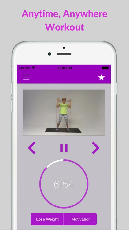 Resistance Band Workout Trainer Exercises Training screenshot-3