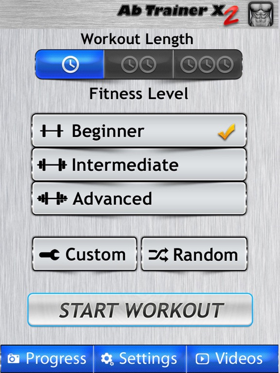 Ab Trainer X FREE+ Six-Pack Abs Exercises Workouts-ipad-2
