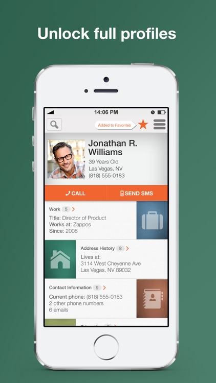 Intelius Reverse Phone Lookup screenshot-4