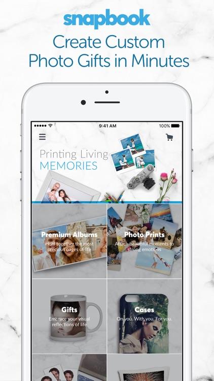 Snapbook: Print Photos, Custom Gifts & Photobooks