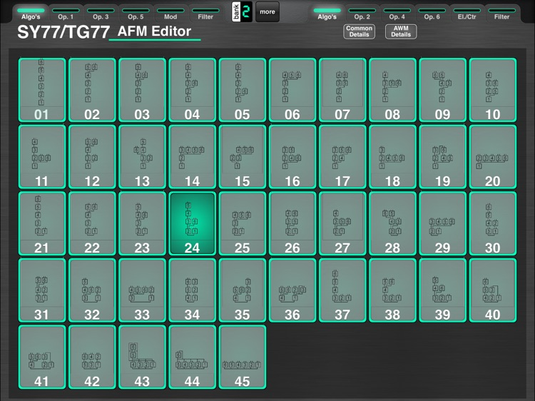 MD77: Voice Editor for Yamaha SY77/TG77 by Ibo Kai screenshot-4