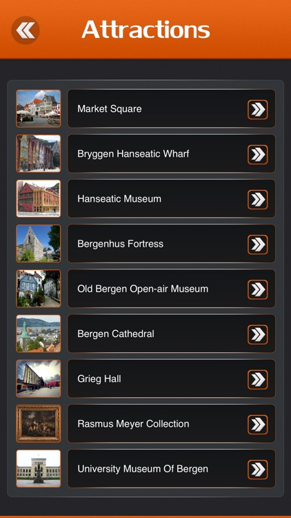 Bergen Tourist Guide screenshot-2