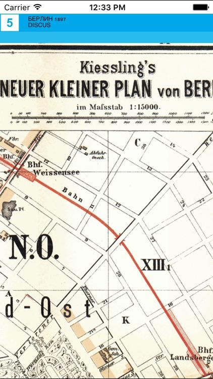 Berlin 1897. Historical Map. screenshot-4