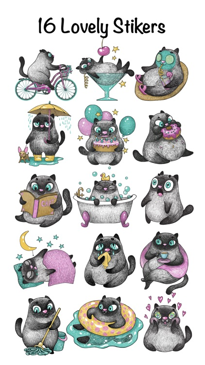 Matilda Stickers screenshot-2