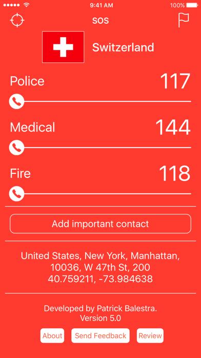 Emergency Phone Numbers - World
