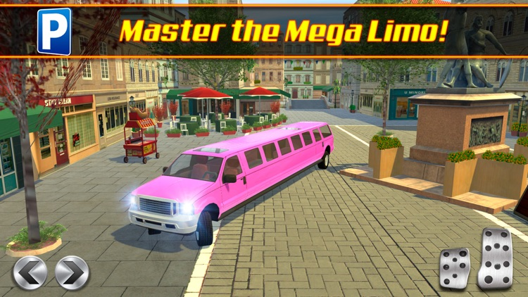 Limo Driving School a Valet Driver License Test Parking Simulator screenshot-4