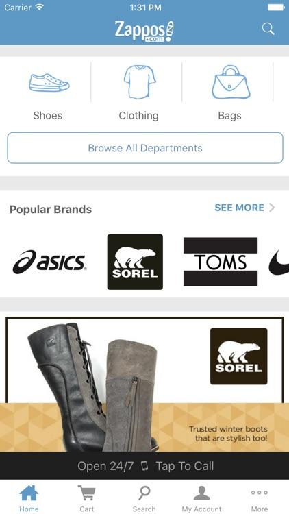 Zappos screenshot-0