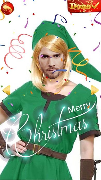 点击获取Elf Yourself - Christmas Photo Editor Cam Stickers