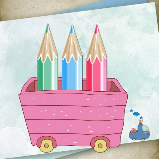 Draw for painter, art drawing board icon