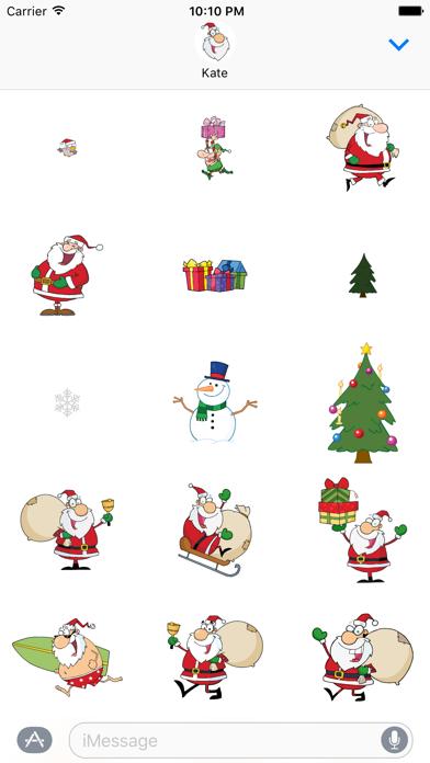 Days to Christmas Sticker Pack screenshot three