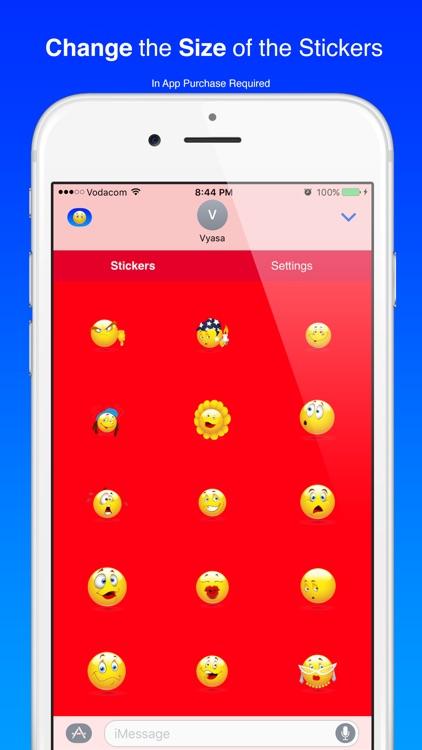 Cool Smiley Sticker Emoji for iMessage screenshot-3