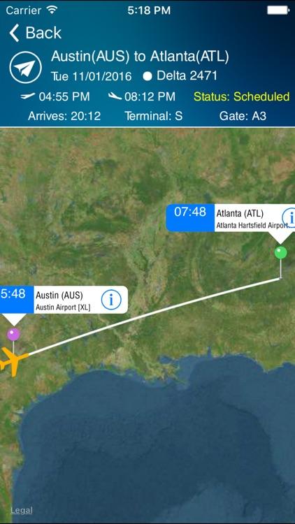 Airport Info Austin (AUS) + Flight Tracker screenshot-3