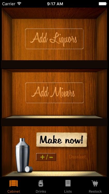 Liquor Cabinet - Cocktails & Drinks app image