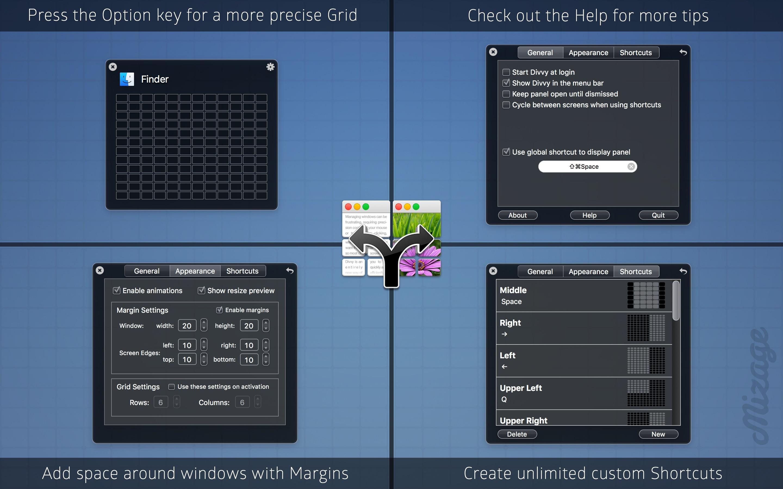 Screenshot do app Divvy - Window Manager
