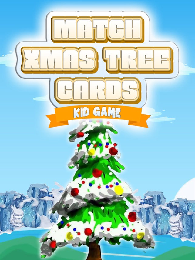 Match Xmas Tree Cards Kid Game on the App Store
