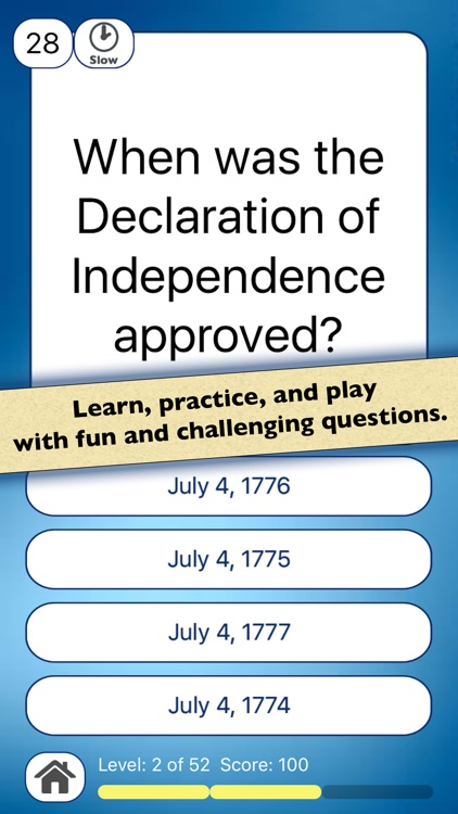 4th of July US History Quiz Independence Day screenshot-4