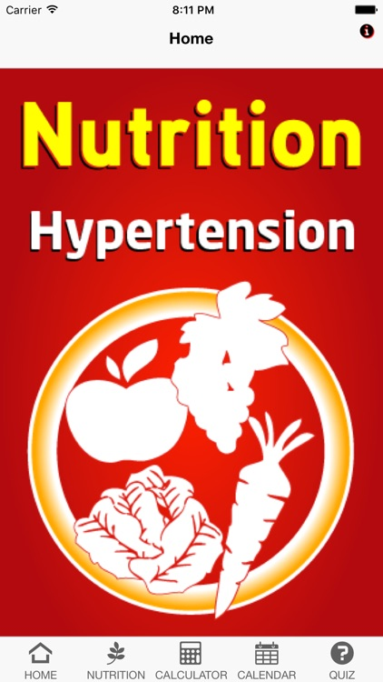 Nutrition Hypertension