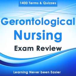 Gerontological Nursing : 1400 Quiz & Study Notes
