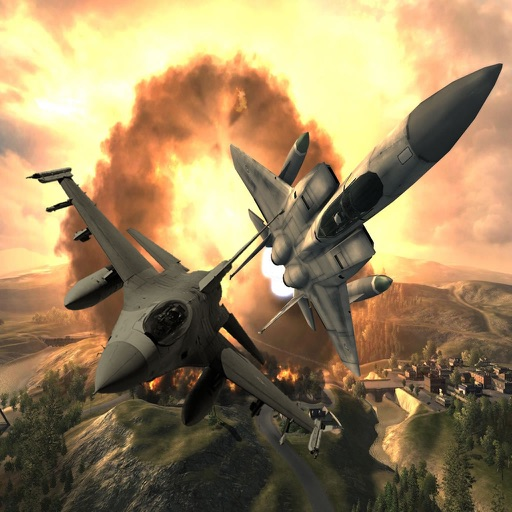 Aircraft Strike Air Maneuver - Amazing Flight Simulator Airforce