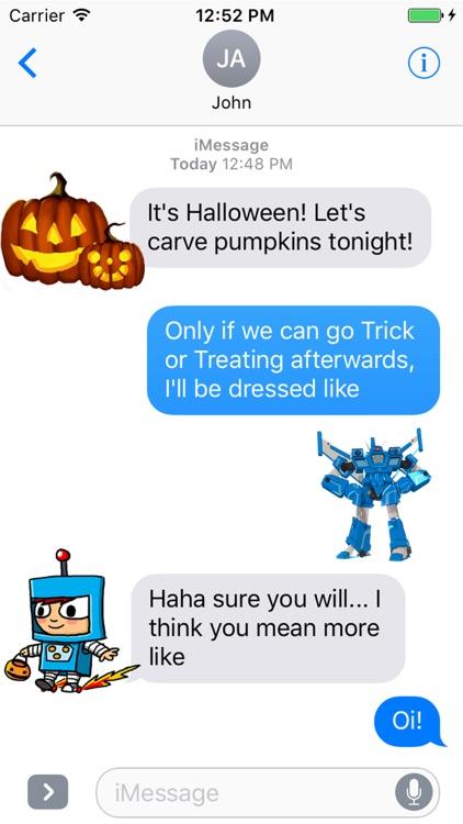 Costume Quest Stickers screenshot-3