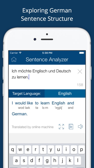 Screenshot for German English Dictionary + in Hong Kong App Store