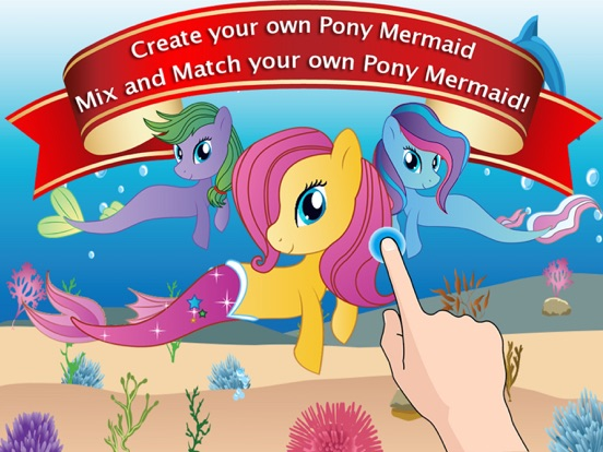 Dress Up Games for Girls - Fun Mermaid Pony Games на iPad