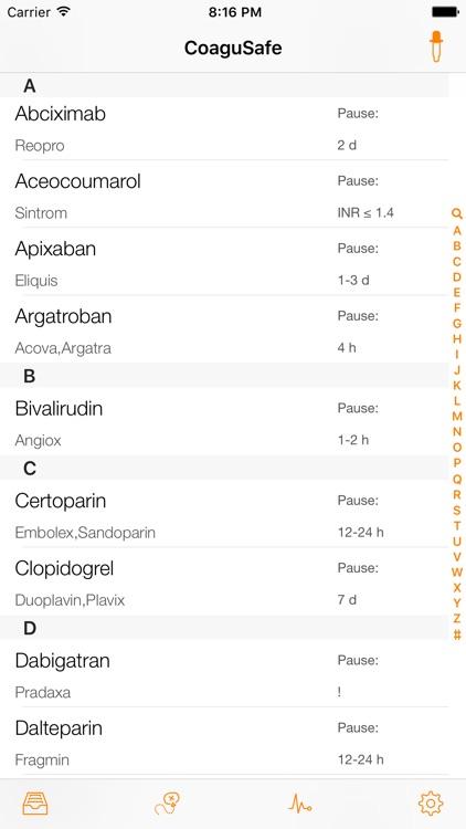 CoaguSafe - Coagulation and invasive procedures