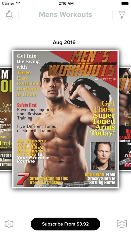 Men's Workouts Magazine screenshot-0