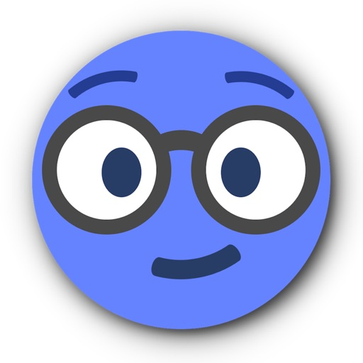 BLUE Emoji • Stickers for iMessage