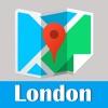 伦敦旅游指南地铁定位零流量去哪儿英国世界地图 London metro tube map guide