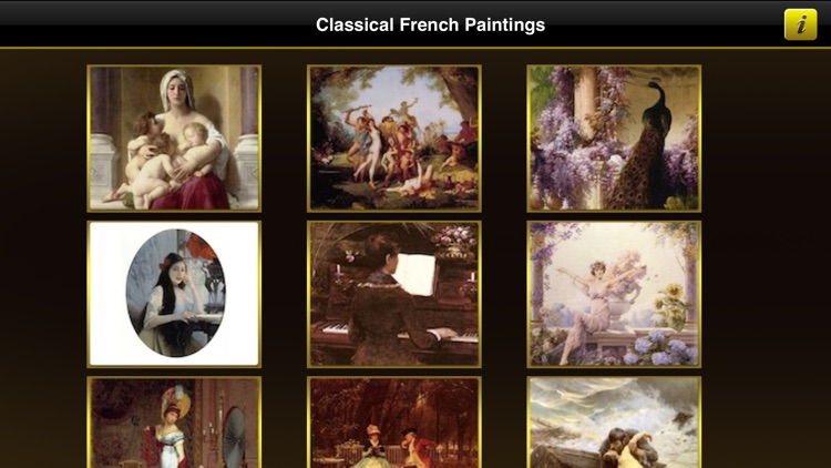 Classical French Paintings screenshot-1